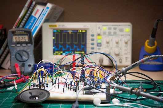 Synth Project: Pre-Testing the Circuits
