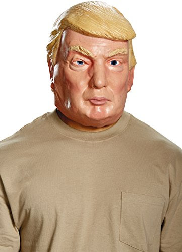 Trump and Clinton Halloween Costumes - Choose Edgy or Funny - President Candidate Deluxe Mask