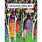 Fanciful Folk Art Coloring Book [Paperback] Gerard, Karla