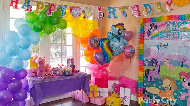 Birthday Party Ideas My Little Pony Birthday Party