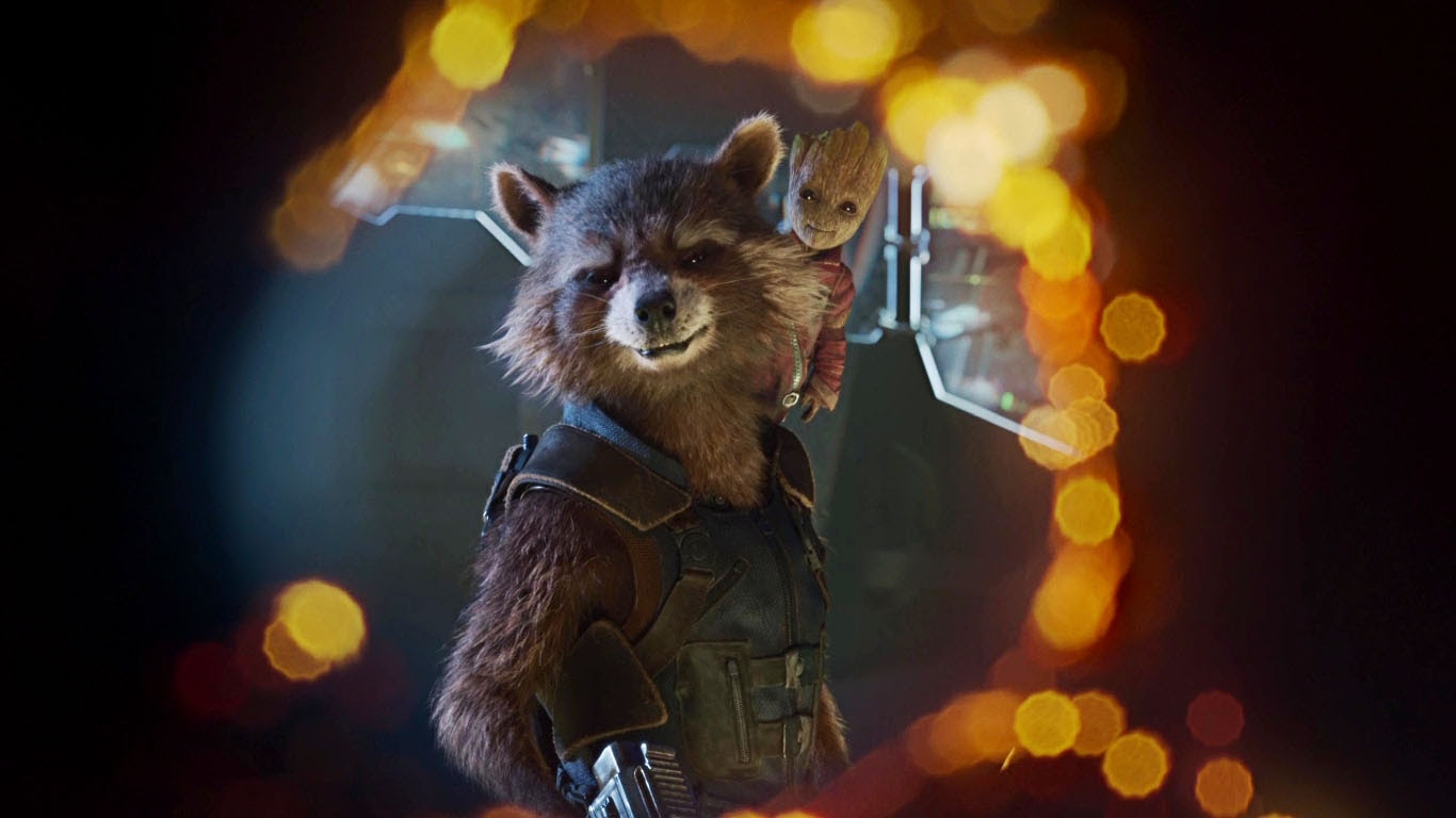 Roccon Guardians Of The Galaxy Vol 2 Wallpapers 1366x768 152320