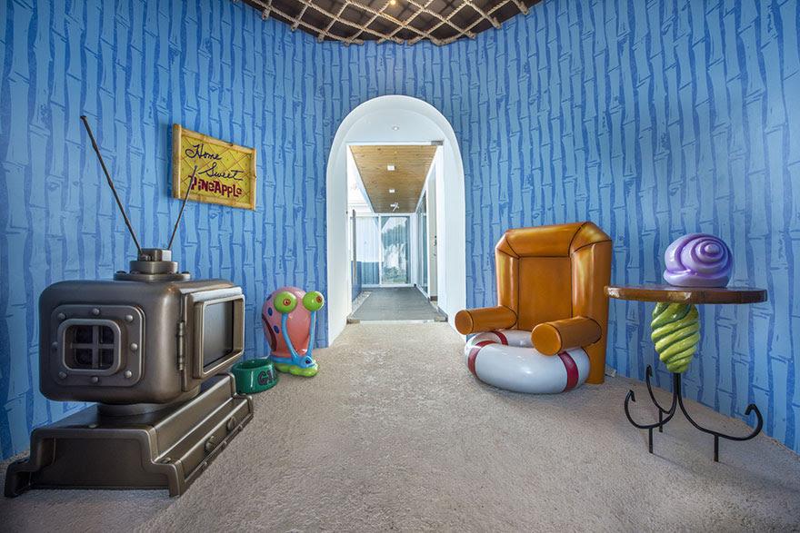 10 casas inspiradas em desenhos animados