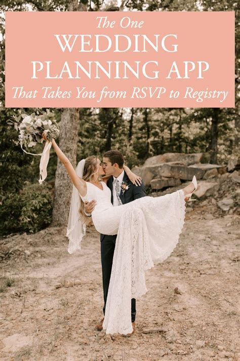 The One Wedding Planning App That Takes You from RSVP to