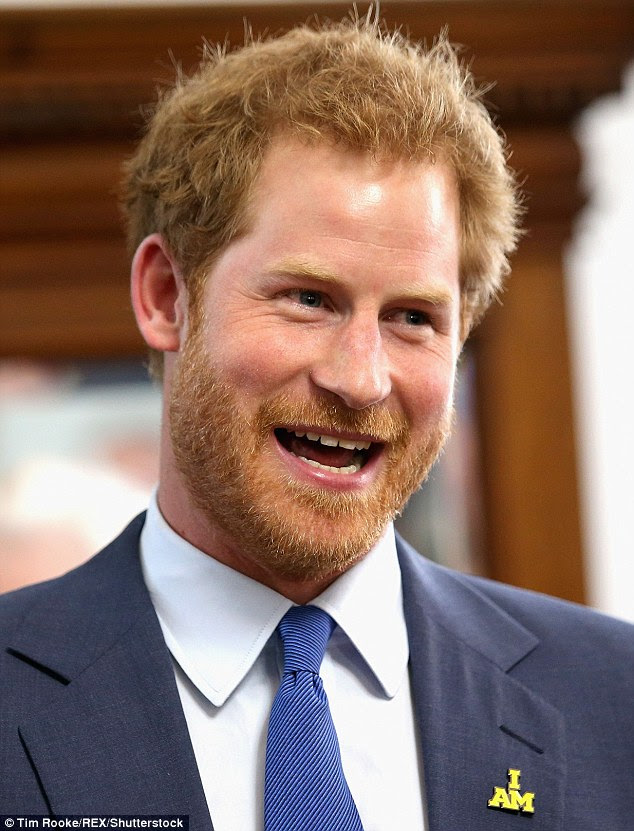 Future family: Prince Harry shared that he would love to have children of his own on day