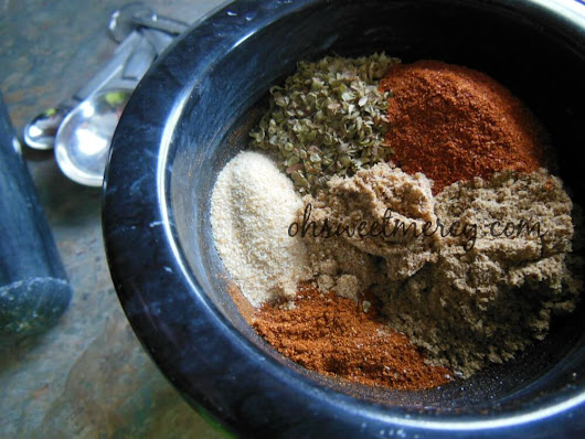 How to Make Healthy Homemade Chili Powder - Oh Sweet Mercy