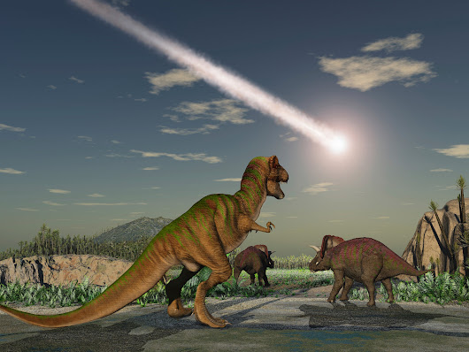 Asteroid that killed the dinosaurs created endless night and 18-month winter as it rained fire