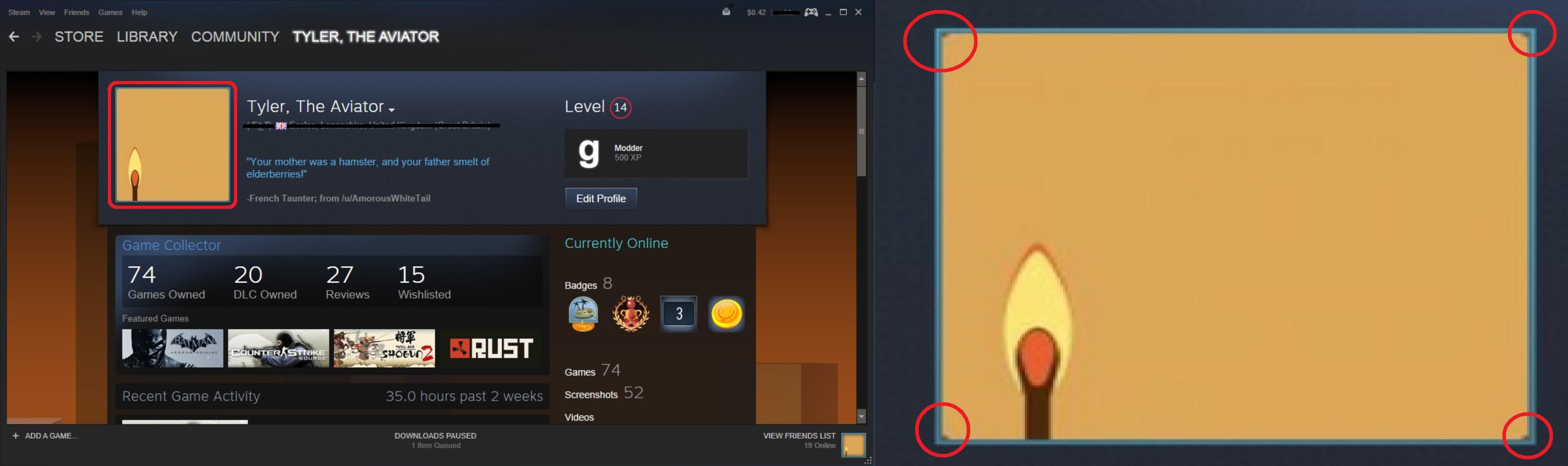 Steam Profile Picture Size Hobitfullringco
