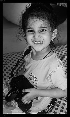 The Smile Of Thankfulness On Being Gifted The Nikon D3100 Marziya Shakir by firoze shakir photographerno1