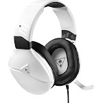 Turtle Beach RECON 200 Over-Ear Headset - Omni-Directional - White