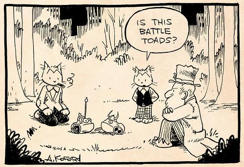 Laugh-Out-Loud Cats #2118 by Ape Lad