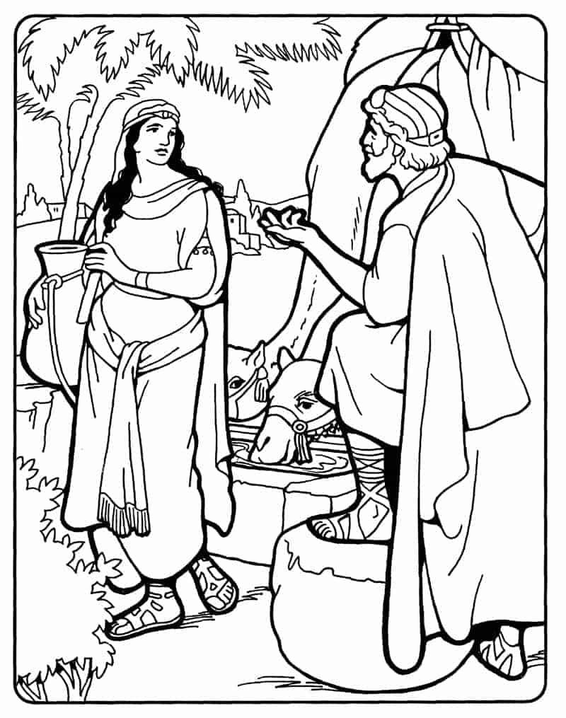 Abrahams Servant Meets Rebekah