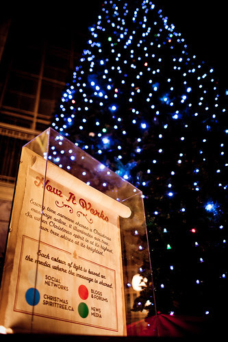 Christmas Spirit Tree, How it Works