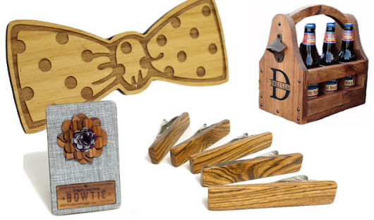 Etsy Eye Candy: Wooden Groomsmen Gifts