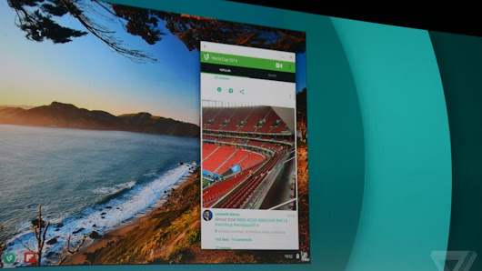 Native Android apps are coming to Chrome OS