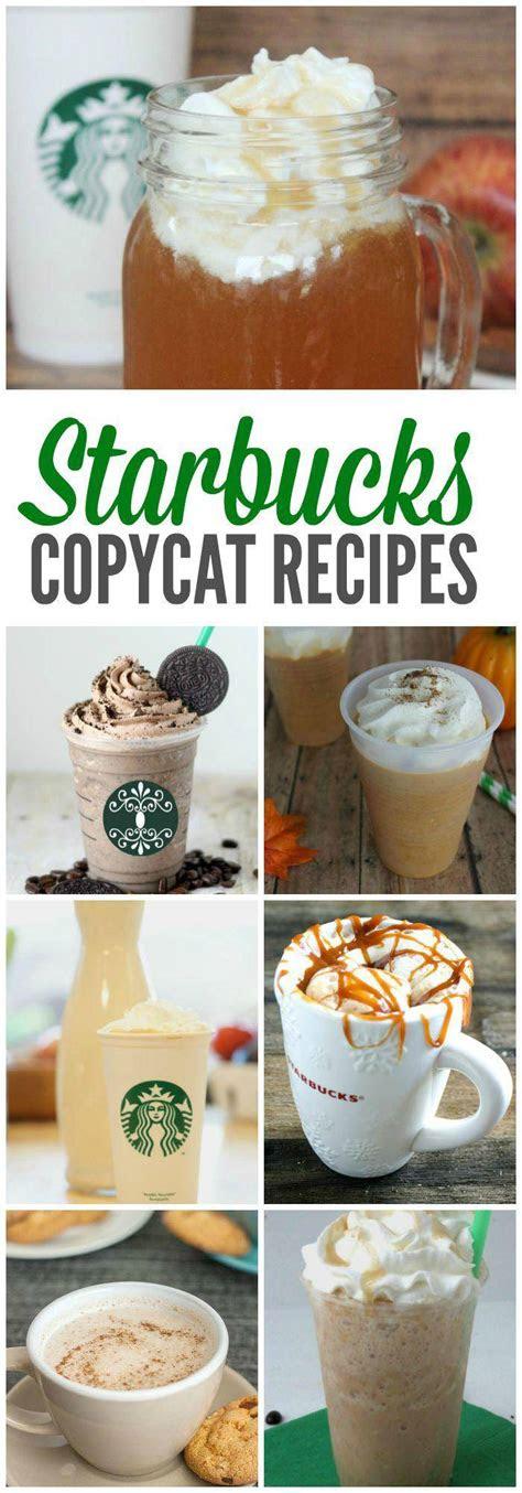 starbucks copycat recipes     home