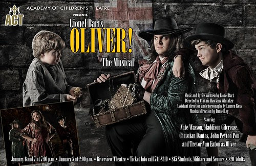 Oliver! Academy Children's Theater; Jan 6, 7, 8 by trudeau
