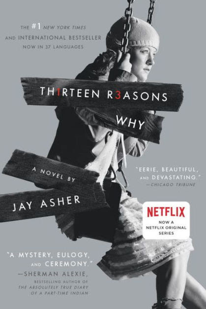 Image result for thirteen reasons why cover