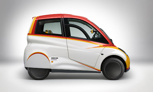 Shell and Gordon Murray Design unveil city car concept