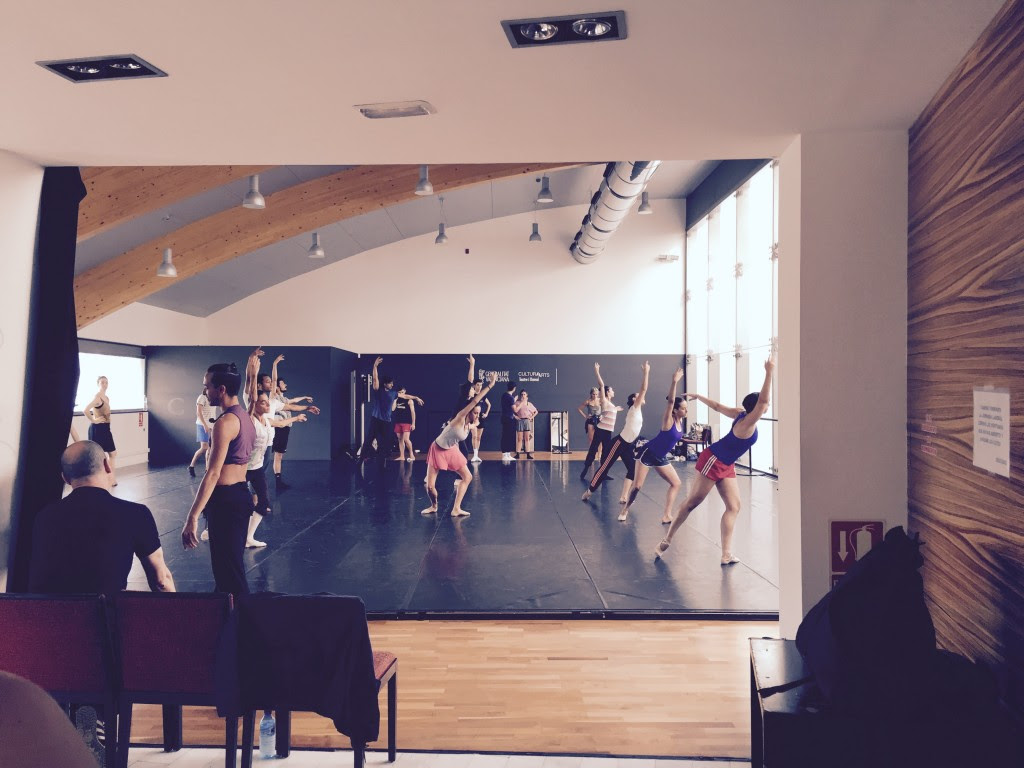 Dancers from Generalitat Valencia, Teatre i Dansa