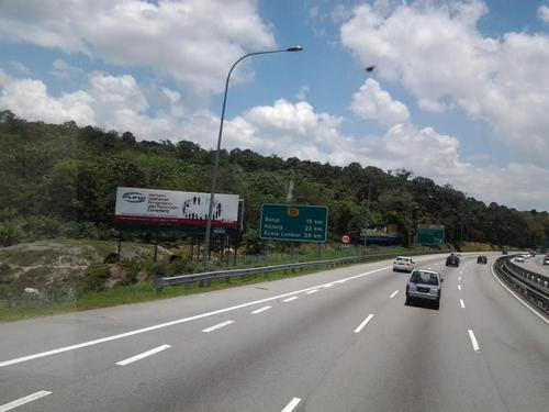 До Куала Лумпур 39 км.
