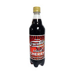 Frostop 9469545 24 oz Cherry Soda Bottle Black - Pack of 24