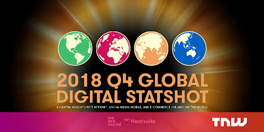 Q4 2018 internet report: Almost 4.2 billion humans are online