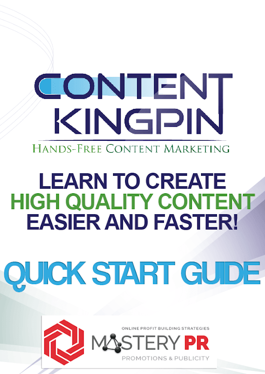 Content Kingpin - It's Finally Here!