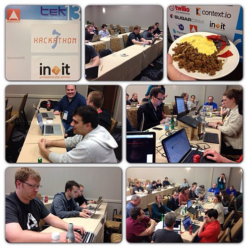 Hackathon now #tek13