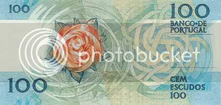 Verso da nota de 100$00, chapa 9. * Image hosted by photobucket.com