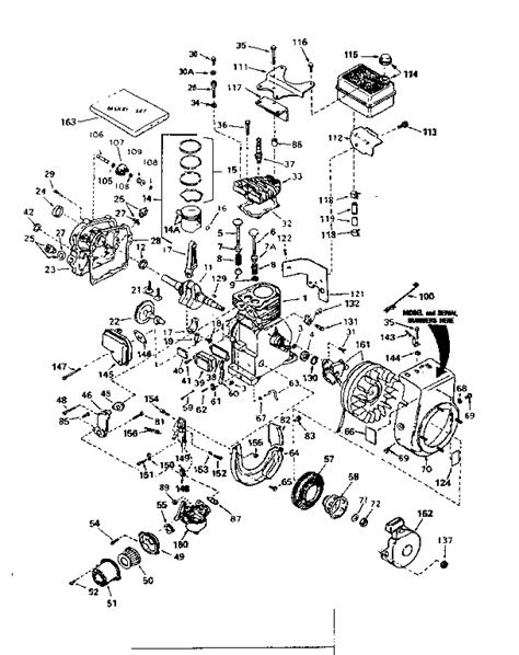 TECUMSEH TECUMSEH 4-CYCLE ENGINE Parts | Model HS50-67161C