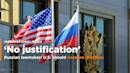 The Latest: White House decries Russia expelling US envoys