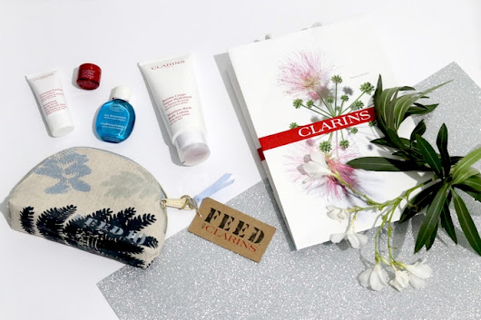 Trousse Clarins & FEED10 Edizione Limitata | Influencer e Fashion Blogger Pamela Soluri