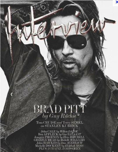 BRAD PITT INTERVIEW