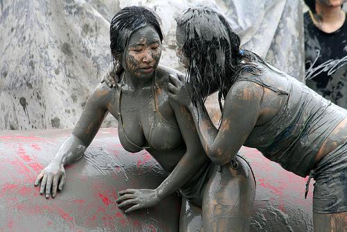 Festival de Lama de Boryeong-Coréia do Sul