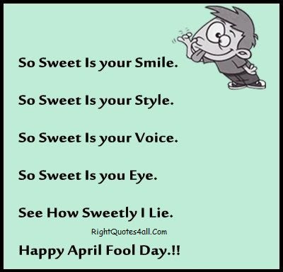April Fool Quotes Wishes Pranks And Ideas