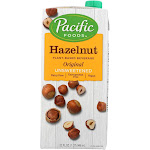 Pacific Natural Foods Unsweetened Hazelnut Original - Case Of 6 - 32 Fz
