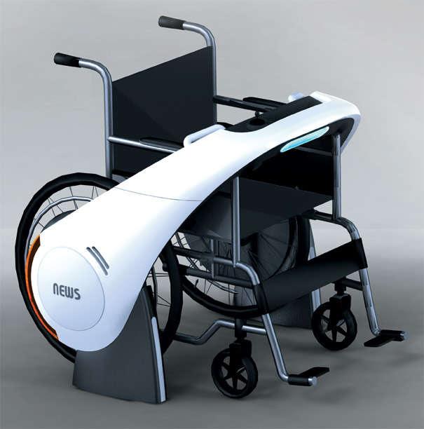 19 Futuristic Concept Wheelchair Designs Kd Smart Chair