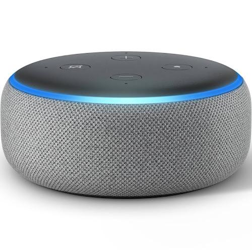 Amazon Echo Dot Smart Speaker - Wireless - Heather Gray