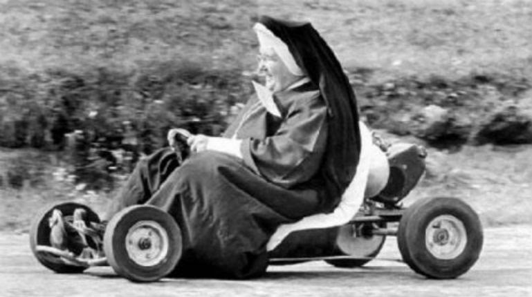Nuns Gone Wild: Vintage photos of sisters letting their habits down