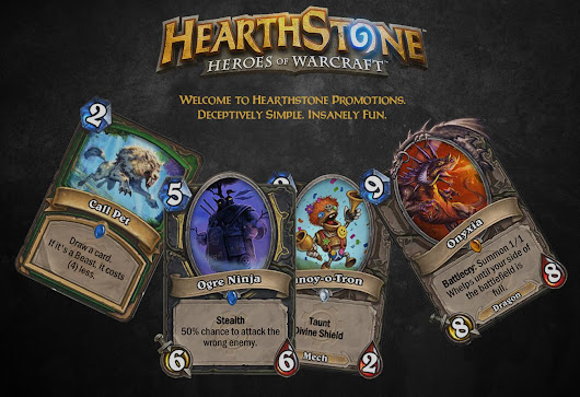 Hearthstone Promotions
