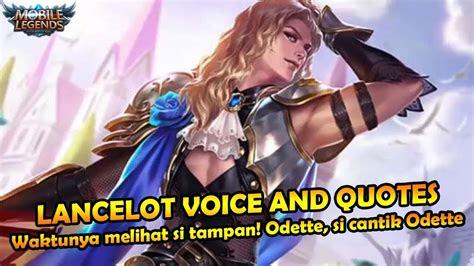 kata kata bijak lancelot mobile legends bahasa indonesia