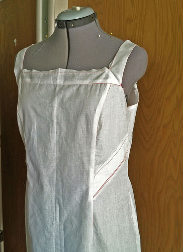 Marfy muslin version 1 front