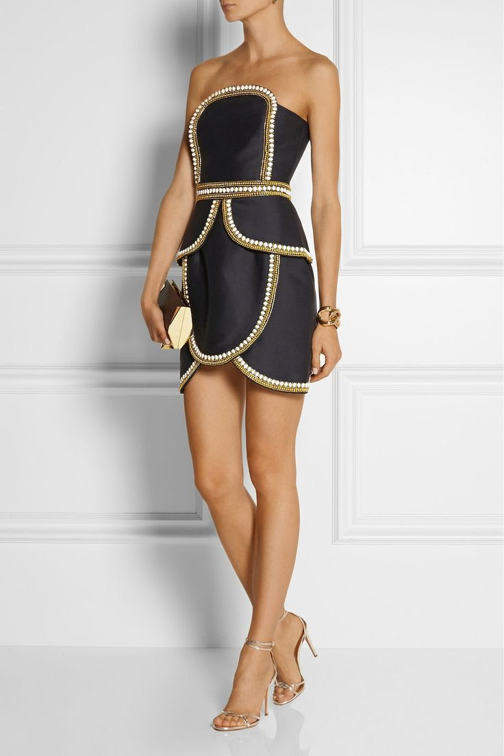 Sass & bide | The Cold Snap embellished cotton and silk-blend dress | NET-A-PORTER.COM