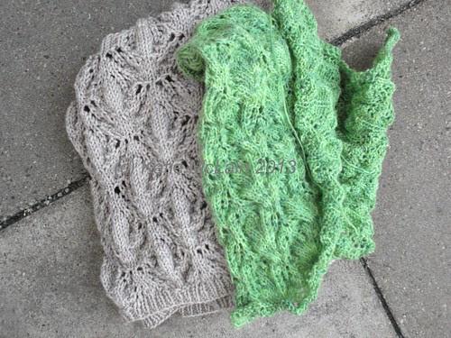 Knitting to Block