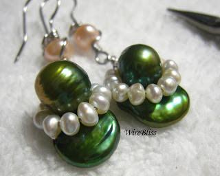 Pearl Briolettes Earrings
