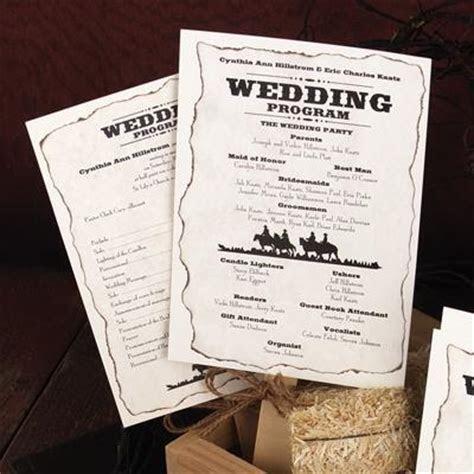 Wedding Program Ideas [Slideshow]