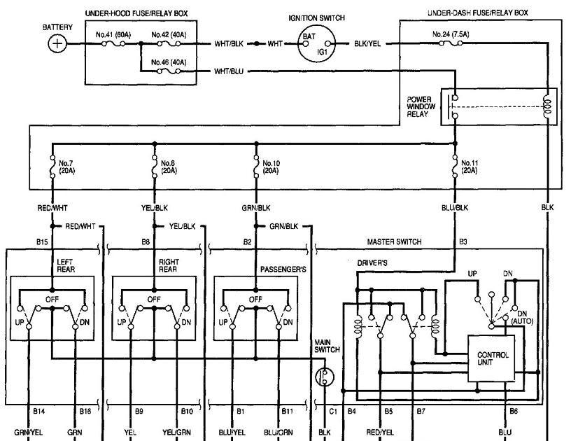 94 Honda Civic Ex Wiring Diagram : Eg Jdm Doors Need Wire
