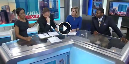 This News Anchor Broke Down Into Tears On Live TV. When You See Why, You Will Too!