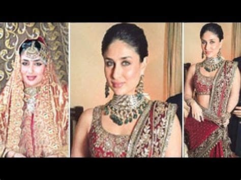 MUST WATCH: Kareena Kapoor's WEDDING DRESS   YouTube