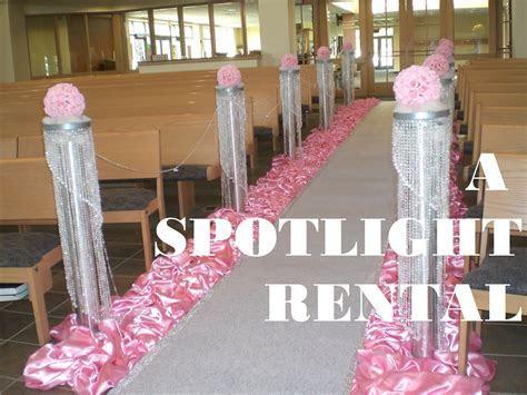 ceremony wedding decoration, pink wedding decoration
